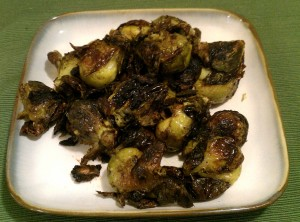 brussles sprouts crop