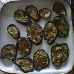 Wheat-less Wednesday – Roesmary Garlic Eggplant Chips
